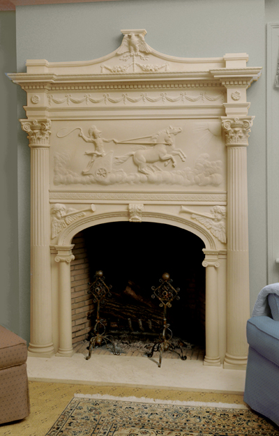 phaeton fireplace surround