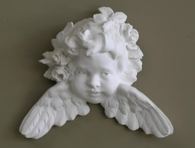 sculpted putto sculpture